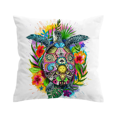 Turtle Mystic Pillow Cover Set-Coastal Passion