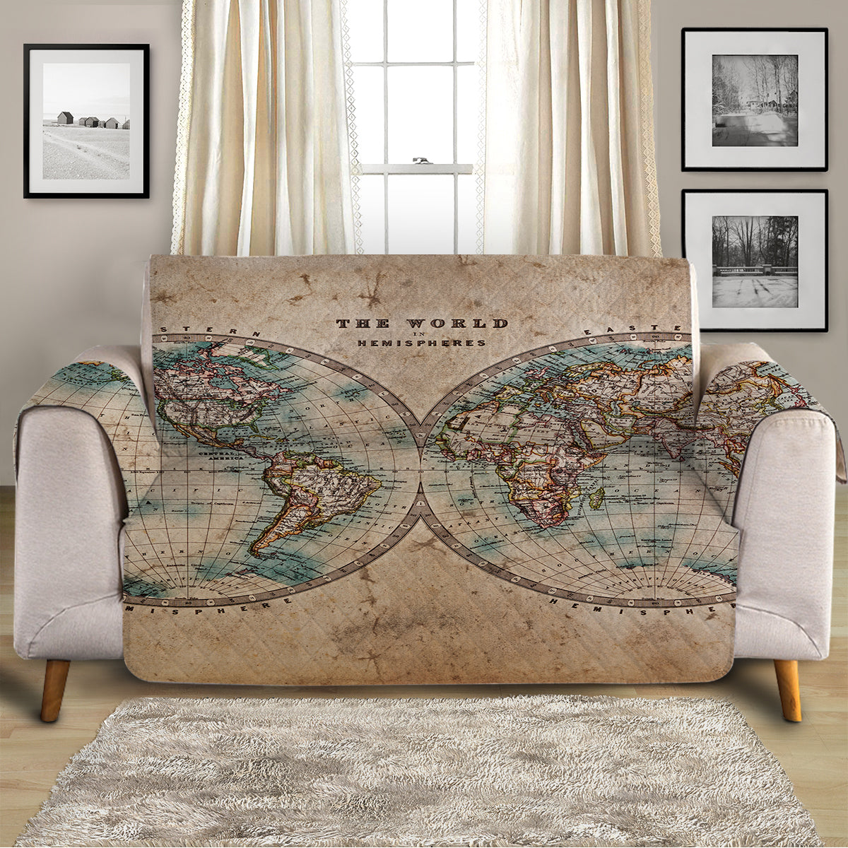 The World Sofa Cover