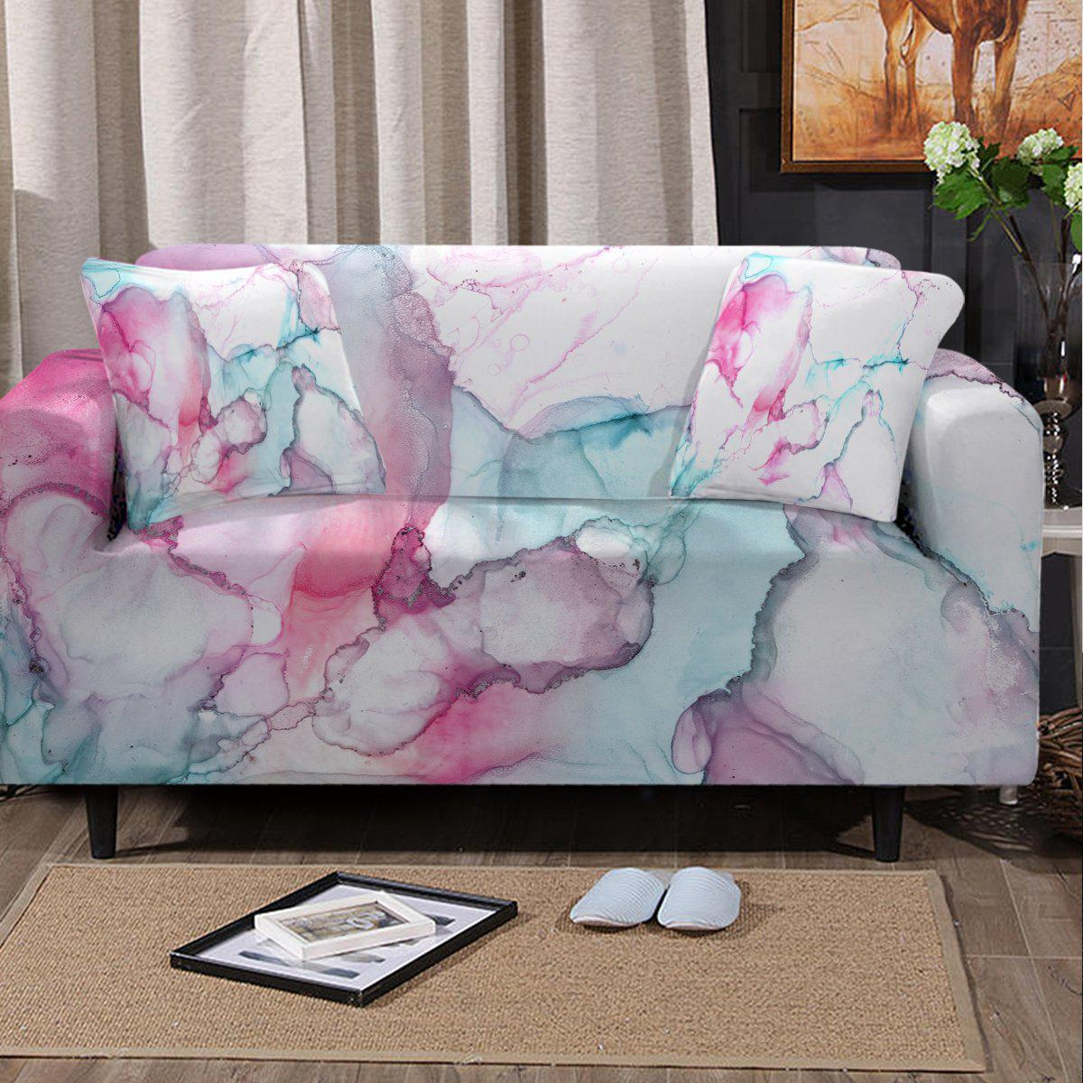 Sofa Slipcover-Waikiki Couch Cover-Coastal Passion
