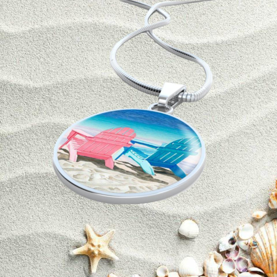 Waiting for Summer Necklace-Jewelry-Coastal Passion