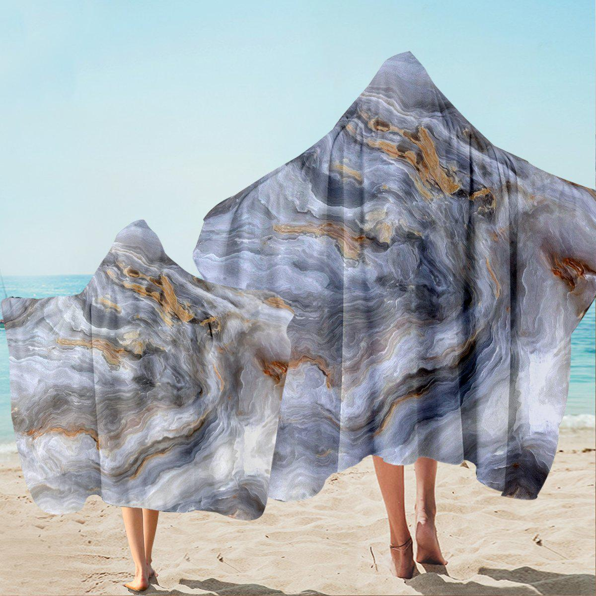 Whitehaven Beach Hooded Towel