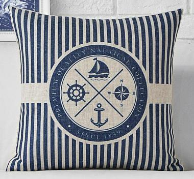 Yacht Club Collection-Pillow Cover-Coastal Passion