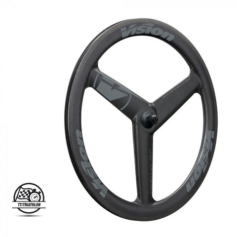 VISION Metron 3 spoke clincher/ TLR 2019 wheel