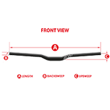 Azonic FLOW FAT35 Handlebar