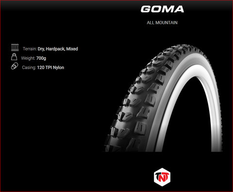 Vittoria Goma All Mountain MTB - Tyres
