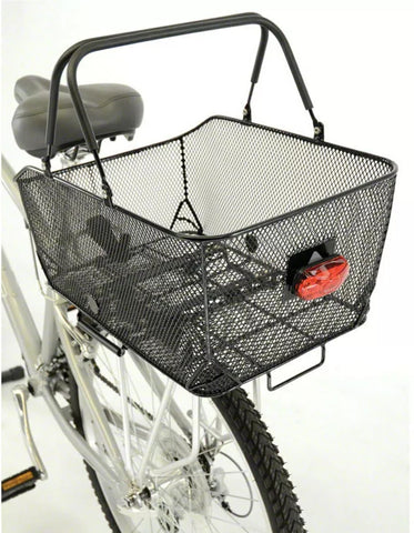 Axiom Market LX Rear Bike Basket Black Mesh