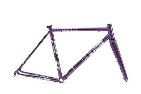 Cinelli VIGORELLI Road Frameset Purple Heart (Caliper)