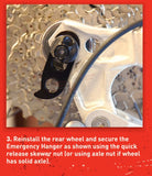 Wheels Manufacturing Emergency Hanger(G)