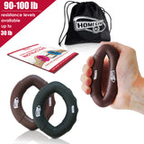 Hand Strengtheners - Grip Rings Exerciser, Fingers Wrist Workout