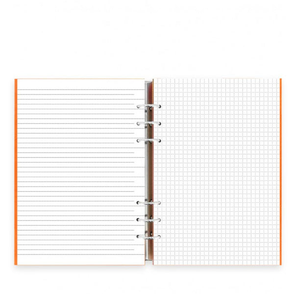 FILOFAX CLIPBOOK CLASSIC A5 NOTEBOOK ORANGE  0236019