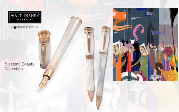 WALT DISNEY SIGNATURE BY MONTEVERDE SLEEPING BEAUTY COLLECTION LIMITED EDITION BALLPOINT PEN 0460/1959