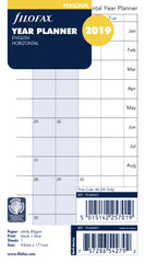 FILOFAX  PERSONAL YEAR PLANNER HORIZONTAL 19-68401