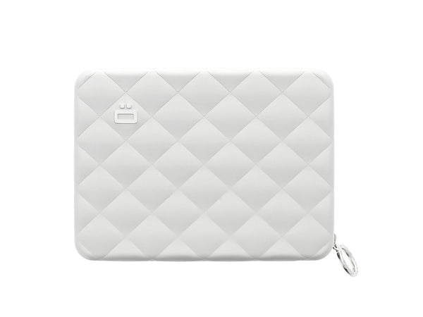 OGON COMPANION  QUILTED PASSPORT SILVER