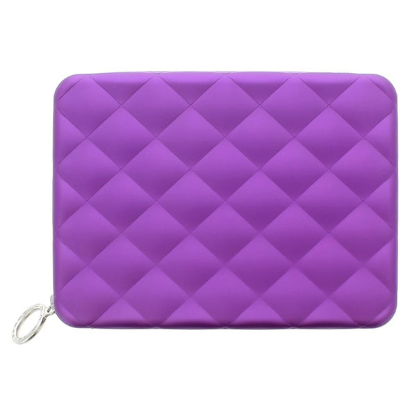OGON COMPANION  QUILTED PASSPORT PURPLE