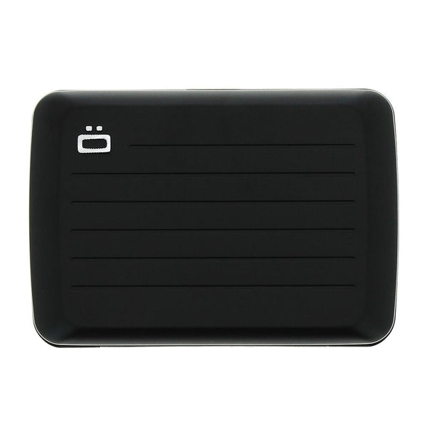 OGON DESIGN STOCKHOLM V2 BLACK  CARD CASE
