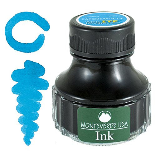 MONTEVERDE USA INK WITH ITF TECHNOLOGY 90ML CARIBBEAN BLUE G308TQ