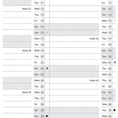 FILOFAX A5 YEAR PLANNER ENGLISH VERTICAL  17-68501