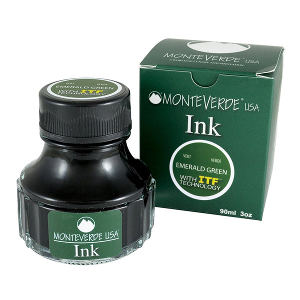 MONTEVERDE USA INK WITH ITF TECHNOLOGY 90ML EMERALD GREEN G308GN