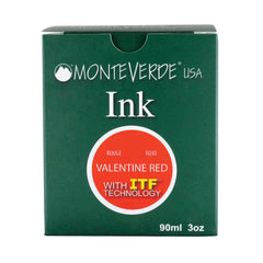 MONTEVERDE USA INK WITH ITF TECHNOLOGY 90ML VALENTINE RED G308RD