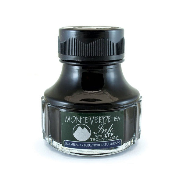 Monteverde Ink Bottle, Blue/black (G308bb)