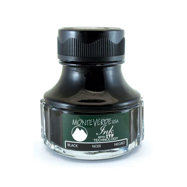 Monteverde Ink Bottle, Black (G308bk)