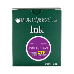 MONTEVERDE USA INK WITH ITF TECHNOLOGY  90ML PURPLE REIGN G308PL