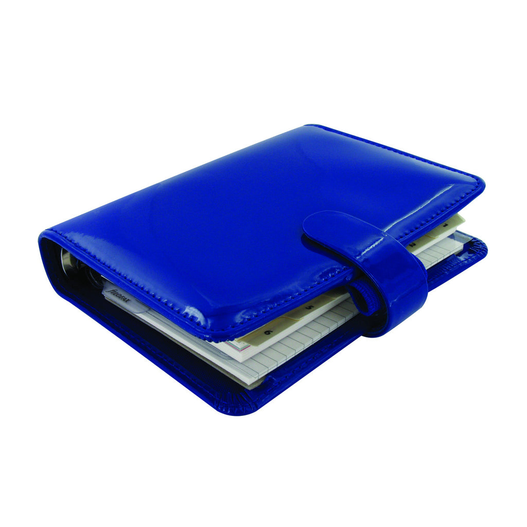 Filofax Pocket Patent Organiser Imperial Blue 18-022540