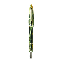 STIPULA MODEL T FOUNTAIN PEN GREY OF WHITE GOLD PN4RCZJX
