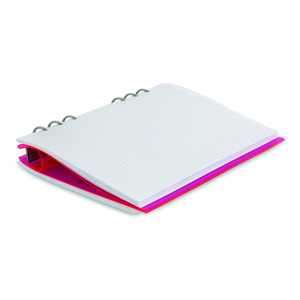 Filofax 23613 Clipbook Refillable Notebook (Pink)