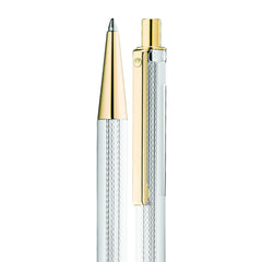 WALDMANN ECO BALLPEN BARLEY PATTERN WITH 24ct GOLD PLATE 0316