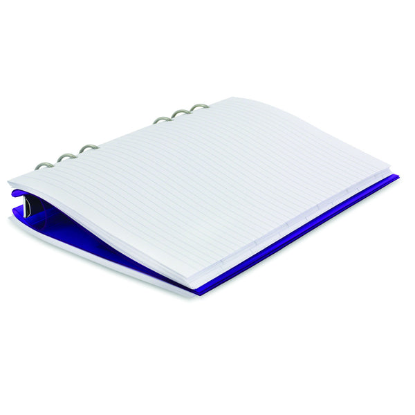 Filofax 23614 Clipbook Refillable Notebook (Purple)