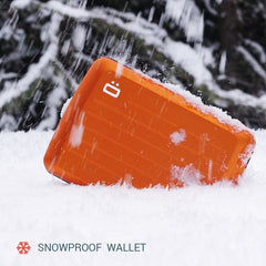 OGON DESIGN STOCKHOLM V2 ORANGE CARD CASE