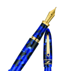 STIPULA MODEL T FOUNTAIN PEN BLUE BLACK PN4WCUEX
