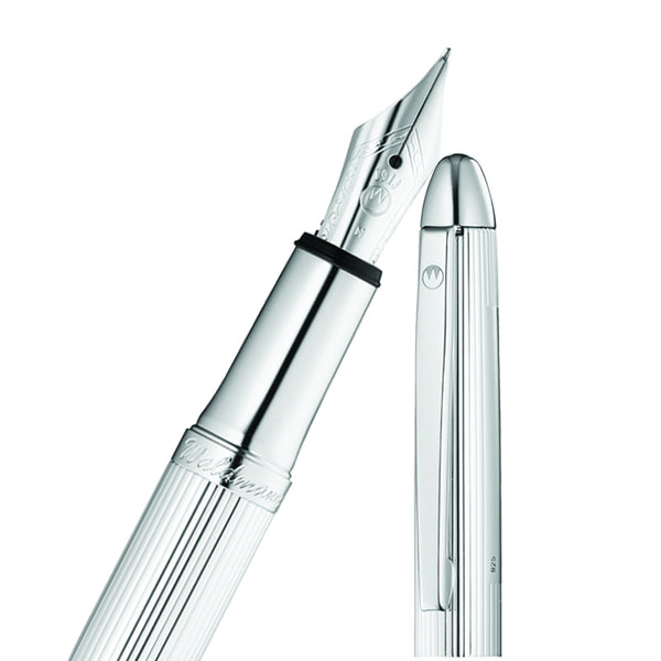 WALDMANN POCKET SOLID STERLING SILVER FOUNTAIN PEN 0082
