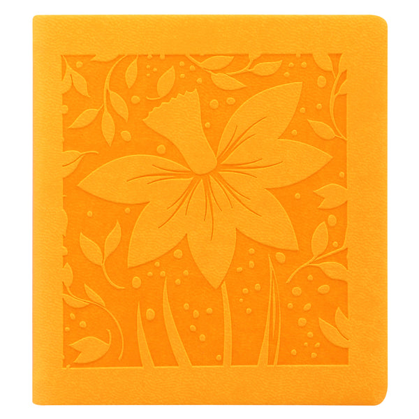 LETTS OF LONDON BLOSSOM MINI SQUARE TWO DAYS PER PAGE DIARY 2019 YELLOW 19-080855