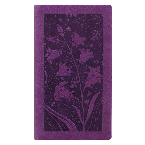 Letts Of London Blossom 2019 Medium Pocket Week to View Diary Purple 19-080849P