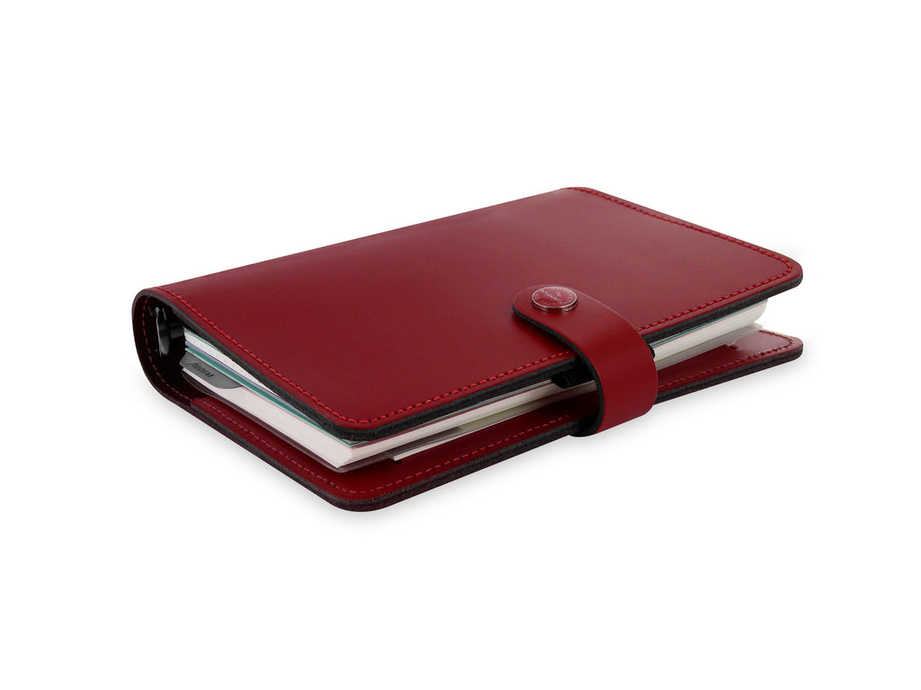 Filofax The Original Organiser Personal Pillarbox Red Leather