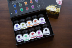 MONTEVERDE GEMSTONE COLLECTION GIFT SET 10 INK BOTTLE  SET MV12373