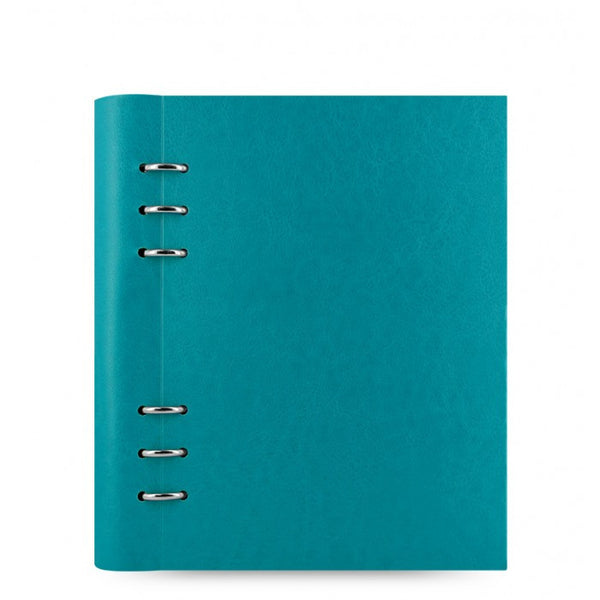 FILOFAX CLIPBOOK CLASSIC A5 NOTEBOOK PETROL BLUE 023612