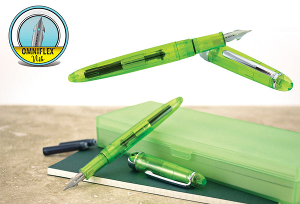 Monteverde Monza New Special Edition Jolly Green - Fountain Pen Omniflex™ Nib MV36757