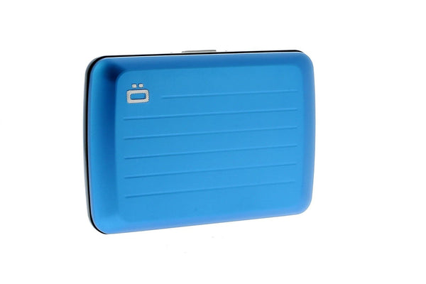 OGON DESIGN STOCKHOLM V2 BLUE CARD CASE