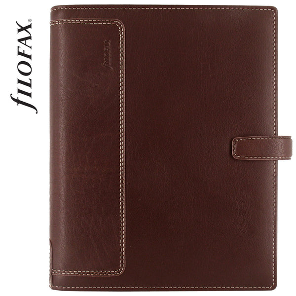 FILOFAX HOLBORN ORGANISER A5 BROWN LEATHER