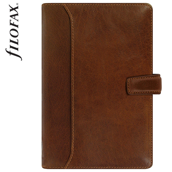 FILOFAX LOCKWOOD PERSONAL ORGANISER COGNAC LEATHER 17-021696
