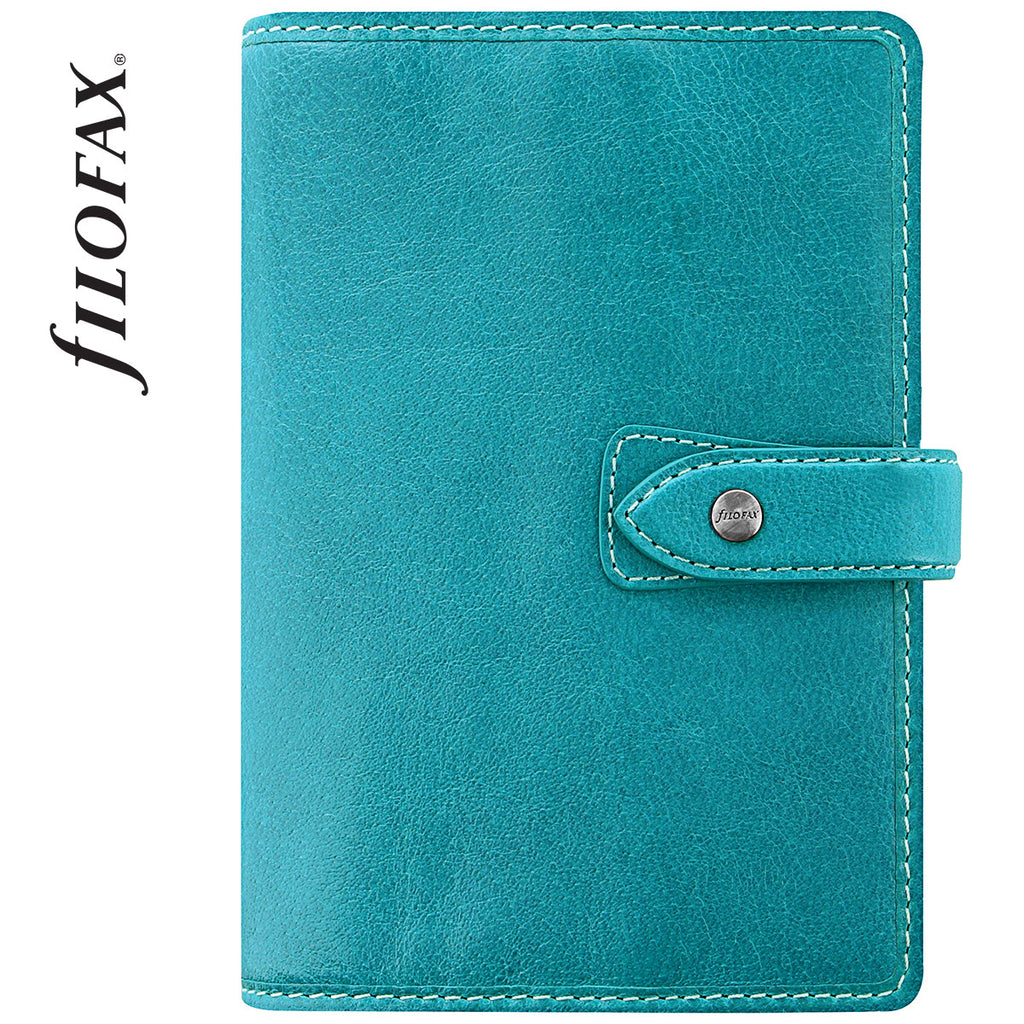 FILOFAX PERSONAL MALDEN ORGANISER BLUE  LEATHER  17-02602