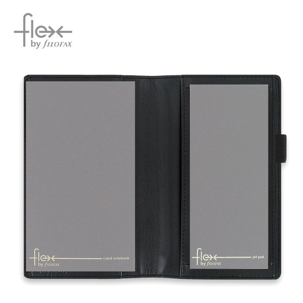 FLEX BY FILOFAX SMOOTH SLIM BLACK 854011