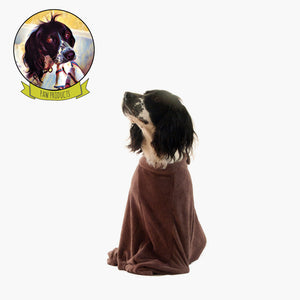 Small 'The Dog Bag' Microfibre Dog Towel suitable for Boston Terrier, Cocker Spaniel
