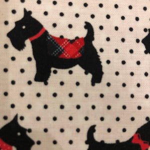 Petsy & Pooch 'Scottie on White Dots' Dog Bandana