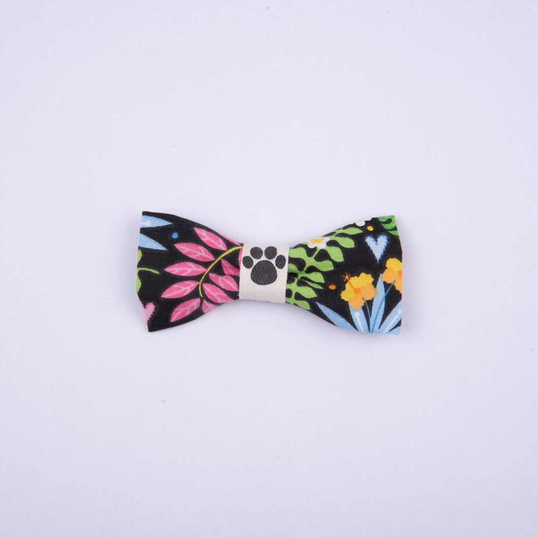 Petsy & Pooch 'Floral Jungle' Print Bow Tie