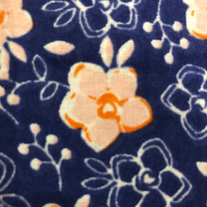 Petsy & Pooch 'Pink on Navy Floral' Dog Bandana & Bow Tie