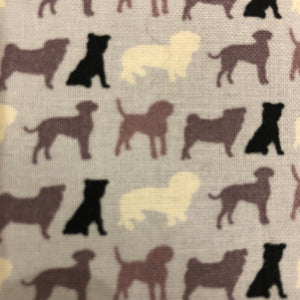 Petsy & Pooch 'Silhouette Dogs' Dog Bandana